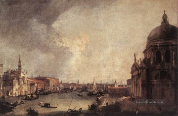 Entrance To The Grand Canal Looking East Canaletto Ölgemälde