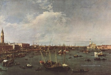 Canaletto Werke - Bacino di San Marco St Marks Basin Canaletto