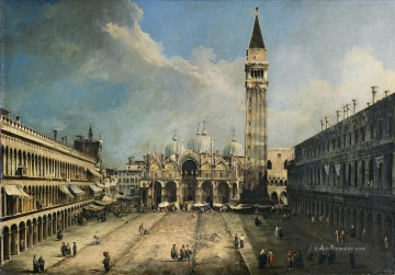 Canaletto Werke - CANALETTO Piazza San Marco Canaletto