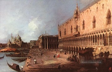 Canaletto Werke - Dogenpalast Canaletto