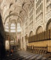 das Innere von Henry VII Kapelle in westminster abbey Canaletto