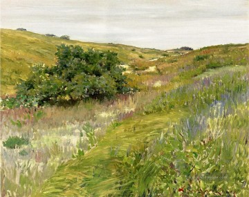Hill Kunst - Landschaft Shinnecock Hills William Merritt Chase