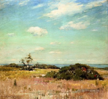 Hill Kunst - Shinnecock Hills Long Island William Merritt Chase