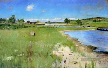 Hill Kunst - Shinnecock Hills von Kanu Ort Long Island William Merritt Chase
