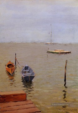 Sturm Galerie - Stürmischer Tag Bath Strand William Merritt Chase
