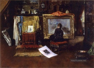 Street Kunst - The Inner Studio Tenth Straße William Merritt Chase