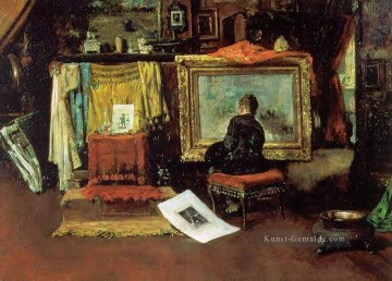 Street Kunst - The Tenth Straße Studio William Merritt Chase
