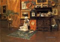 Im Studio 1881 William Merritt Chase