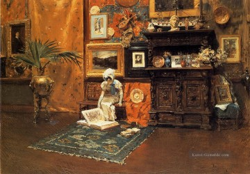 1881 Galerie - Im Studio 1881 William Merritt Chase