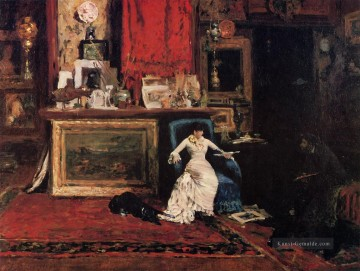 Street Kunst - Innere der Künstler Studio aka The Tenth Straße Studio William Merritt Chase