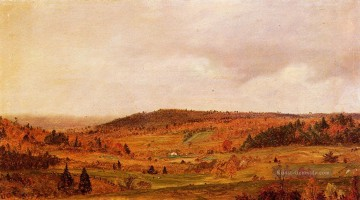 Church Kunst - Herbst Dusche Landschaft Hudson Fluss Frederic Edwin Church