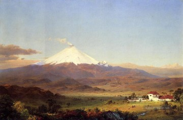 Church Kunst - Cotopaxi Landschaft Hudson Fluss Frederic Edwin Church