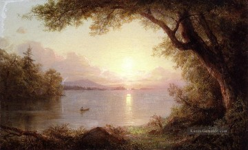 Hudson Werke - Landschaft in der Adirondacks Landschaft Hudson Fluss Frederic Edwin Church