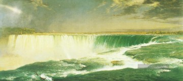 Church Kunst - Niagara Falls Landschaft Hudson Fluss Frederic Edwin Church