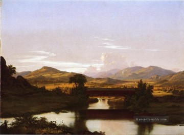 On Otter Creek Landschaft Hudson Fluss Frederic Edwin Church Ölgemälde