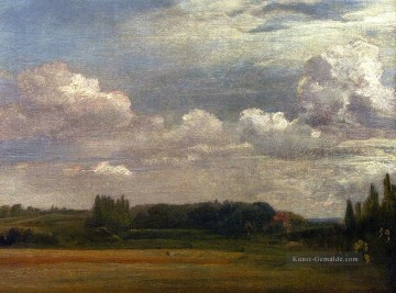 John Constable Werke - View Towards The Rectory From East Bergholt House romantische John Constable