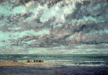 Realismus Galerie - Meeres Les Equilleurs Realist Realismus Maler Gustave Courbet