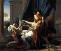 Sappho und Phaon Neoklassizismus Jacques Louis David