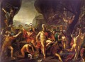 Leonidas an den Thermopylen Neoklassizismus Jacques Louis David
