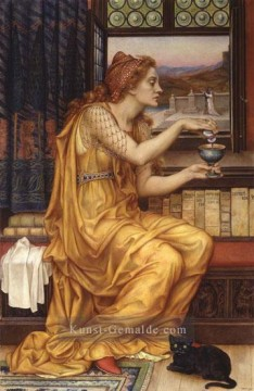 Präraffaeliten Galerie - The Love Potion Präraffaeliten Evelyn de Morgan