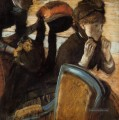 At the Milliners 3 Edgar Degas