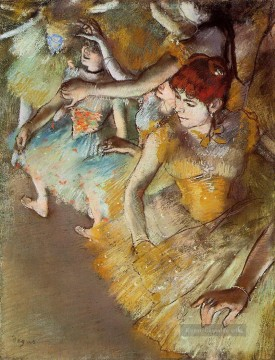 Edgar Degas Werke - Degas Ballet Dancers on the Stage Edgar Degas