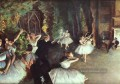 Rehearsal on the Stage Impressionismus Ballett Tänzerin Edgar Degas