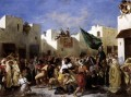 The Fanatics of Tangier romantische Eugene Delacroix