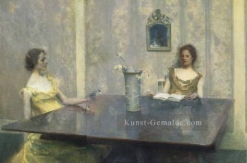 AReading Tonalist Ästhetizismus Thomas Dewing