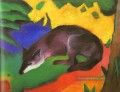 Blau Black Fox Franz Marc