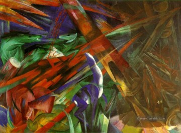 Franz Marc Werke - The fate of the Tiere Franz Marc