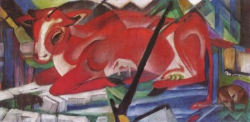 Franz Marc Werke - The World Cow Franz Marc