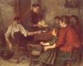 Le Repas Frugal Realismus Emile Friant