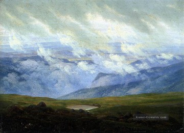 Caspar David Friedrich Werke - Drifting Clouds romantische Caspar David Friedrich