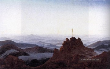 Morning In The Riesengebirge romantische Caspar David Friedrich