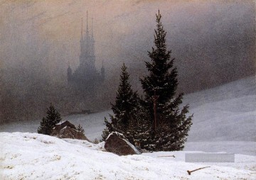 Winter Galerie - Winter Landschaft 1811 romantischen Caspar David Friedrich