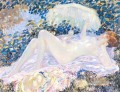 Venus in the Sunlight Impressionist Frauen Frederick Carl Frieseke