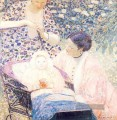 Die Mutter Impressionist Frauen Frederick Carl Frieseke