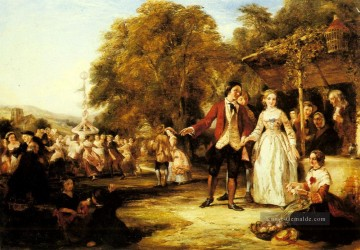 A Maifeier viktorianisch Sozialszene William Powell Frith