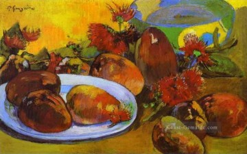 Paul Gauguin Werke - Still Life with Mangoes Post Impressionismus Primitivismus Paul Gauguin