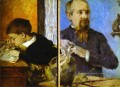 Aube the Sculptor and His Son Post Impressionismus Primitivismus Paul Gauguin