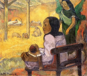 Paul Gauguin Werke - Baby The Nativity Post Impressionismus Primitivismus Paul Gauguin