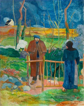 Paul Gauguin Werke - Bonjour Monsieur Gauguin Post Impressionismus Primitivismus Paul Gauguin