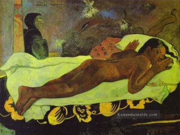 Paul Gauguin Werke - Manao tupapau The Spirit of the Dead Keep Watch Post Impressionismus Primitivismus Paul Gauguin