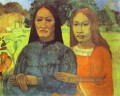 Mother and Daughter Post Impressionismus Primitivismus Paul Gauguin