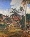 Palm Trees on Martinique Post Impressionismus Primitivismus Paul Gauguin