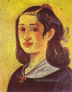 Paul Gauguin Werke - Porträt of Mother Post Impressionismus Primitivismus Paul Gauguin