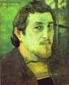 Self Porträt c Post Impressionismus Primitivismus Paul Gauguin