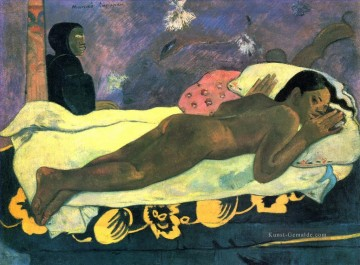Paul Gauguin Werke - Spirit of the Dead Watching Post Impressionismus Primitivismus Paul Gauguin