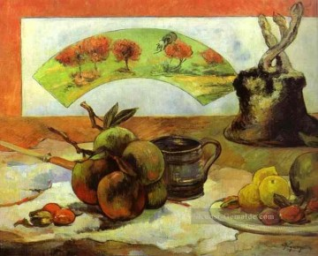 Still Life with Fan Post Impressionismus Primitivismus Paul Gauguin